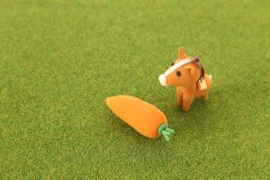 馬とにんじん